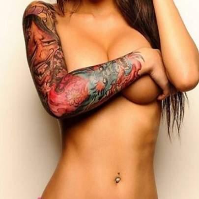 Mulheres Tatuadas Nuas Fotos Filmvz Portal