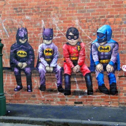 Arte de rua inspirada na Cultura Pop!