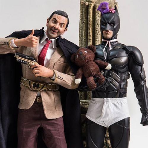 Fotografias com action figures tiram sarro dos super-herois