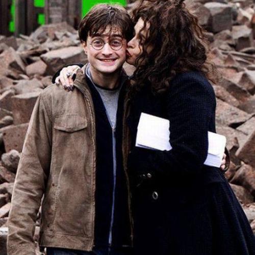 """Galeria de fotos """"curiosas"""" dos bastidores de Harry Potter"""