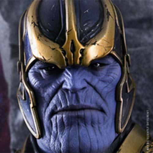 O vilão Thanos em nova peça da SideShow