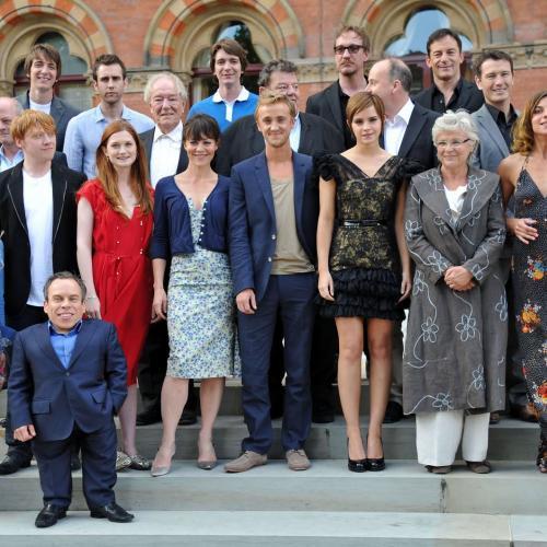 Elenco da franquia Harry Potter trabalhando juntos em outros filmes