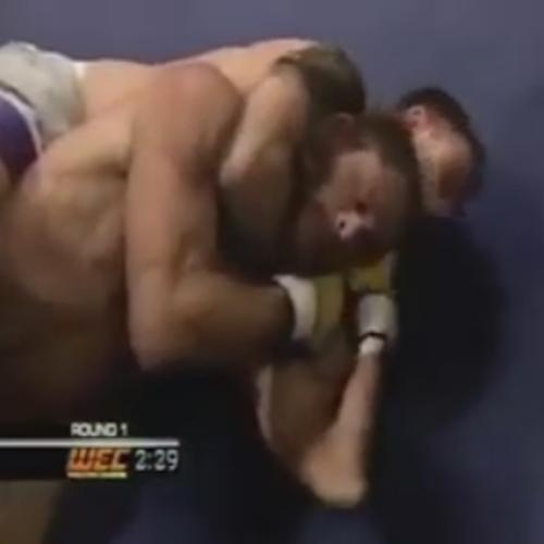 Árbitro de MMA fazendo cagada